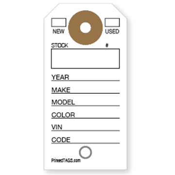 Picture of Pre-Printed Key Tag (1000/box)