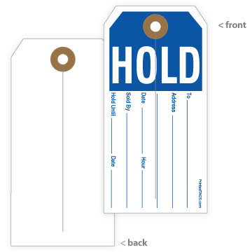 Picture of Hold Tag (1000/Box)