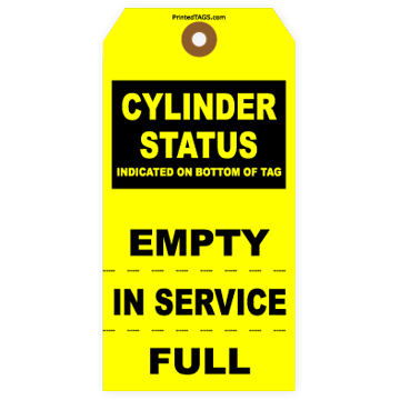 Picture of Cylinder Status Tag
