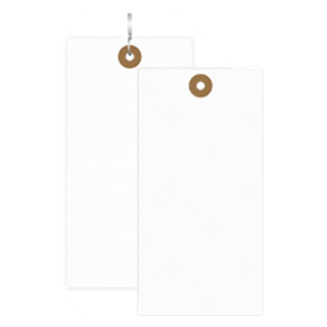 Picture of Size #8, Blank Tyvek Tag (1000/Box)
