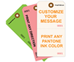 Picture of Custom Tear-Off Tag, Size #8 (1000/Box)